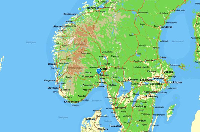 Karta Arendal Norge.Haandbryggeriet Haandbryggeriet No
